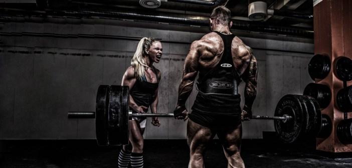 hipertofia muscular en el gimnasio