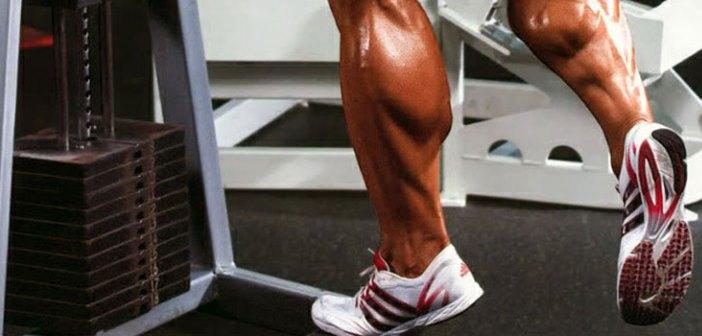 pantorrillas musculosas
