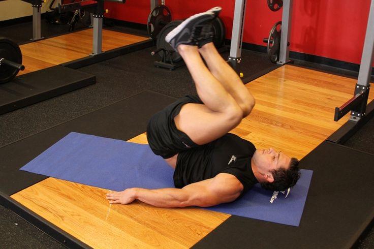 abdominales con elevacion de cadera