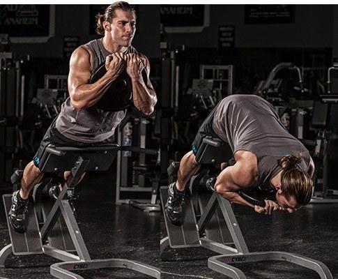 entrenamiento de espinales