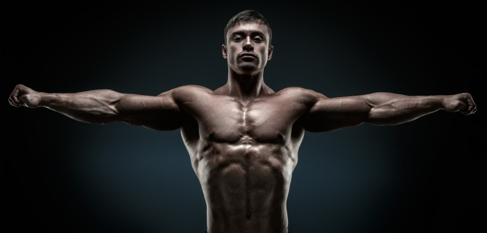 flaco a musculoso