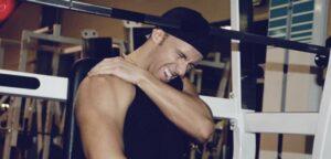 lesion en el gimnasio