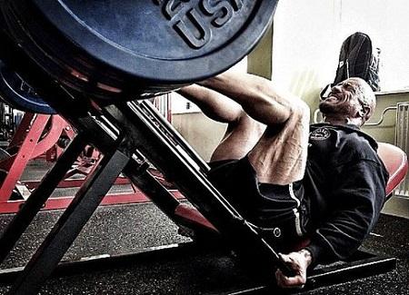 entrenar piernas hasa el fallo muscular