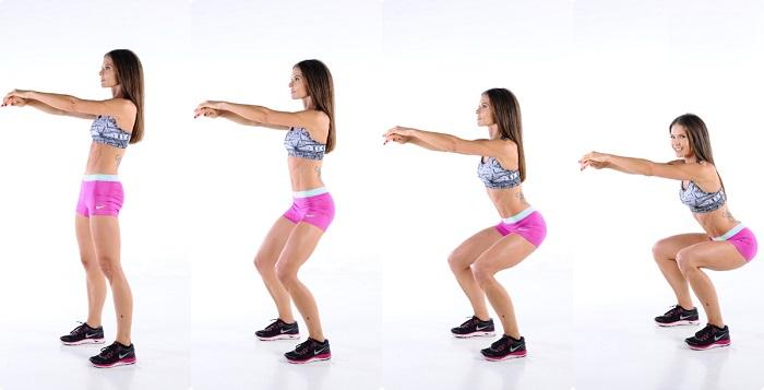 como hacer el squat