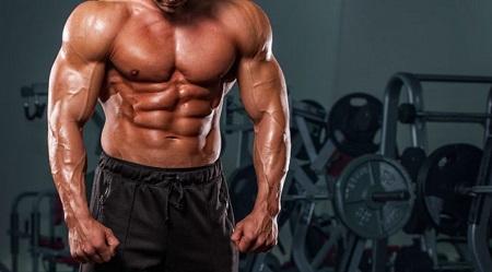 cuerpo con alto nivel de testosterona