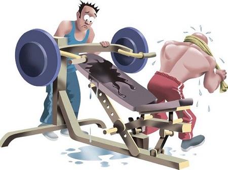 enfermedades en el gimnasio