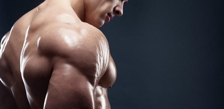 hombros bien desarrollados