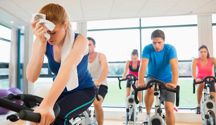 prevenir enfermedades en el equipo de gimnasio
