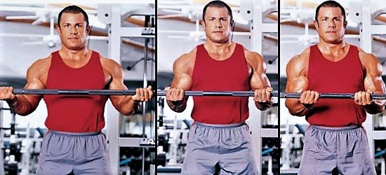 Tipos de agarre para el Curl de Bíceps con Barra