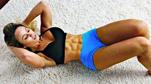 abdominales con ejercicio
