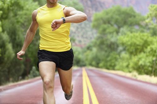 correr a ritmo controlado