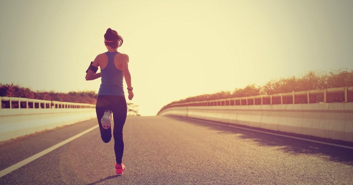 correr adelgazar y bajar de peso
