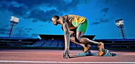 usain bolt referente del atletismo