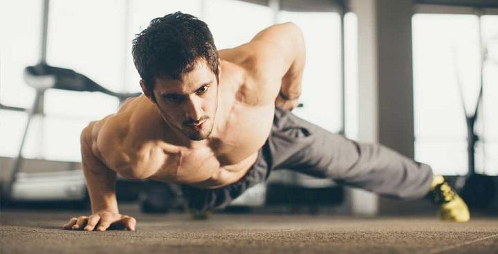 variantes de flexiones de brazos