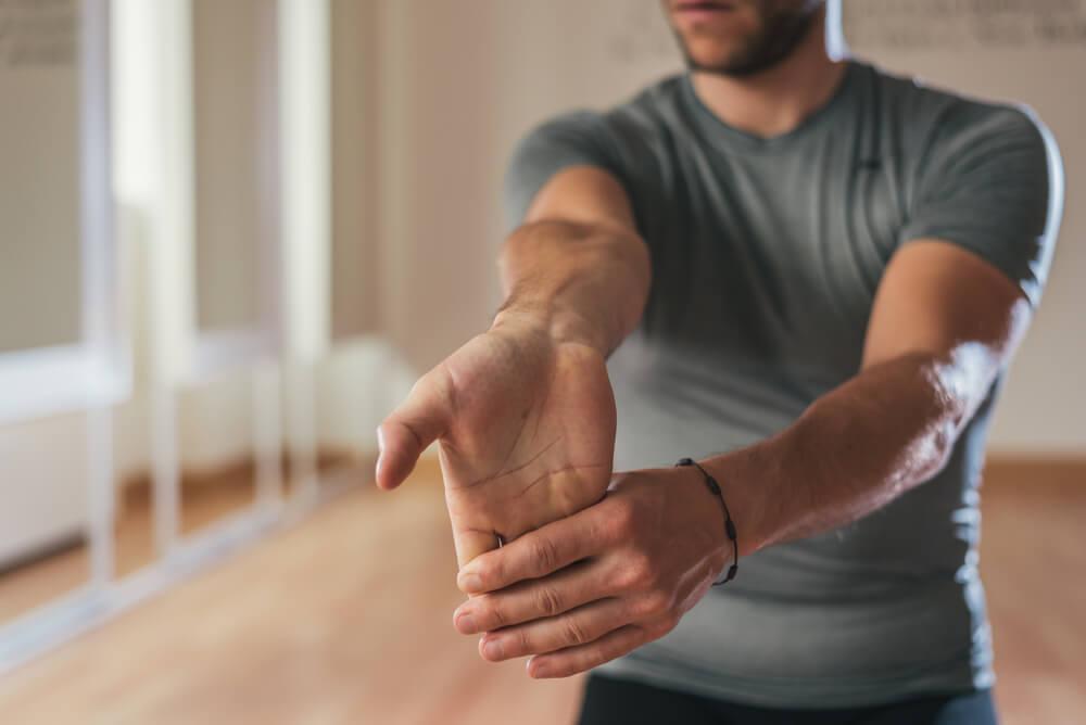 ejercicios de estiramiento para antebrazos