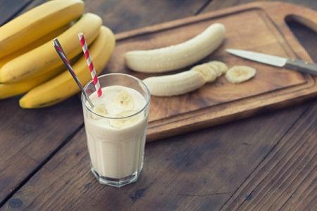 batido de banana
