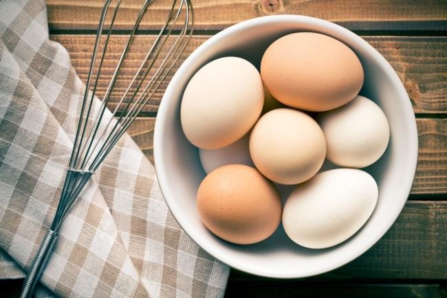los huevos y el entrenamiento muscular