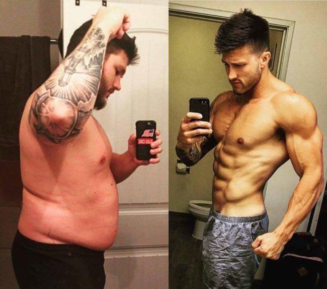 la grasa no se transforma en musculo