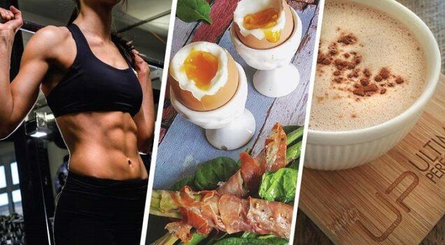 el desayuno y el ejercicio físico