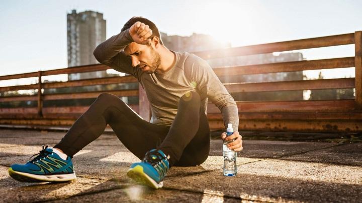 olor a amoniaco después de entrenar