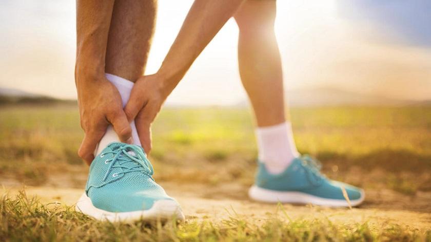fitness y edema de tobillo
