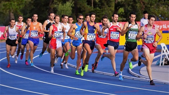 pruebas de mediofondo en el atletismo